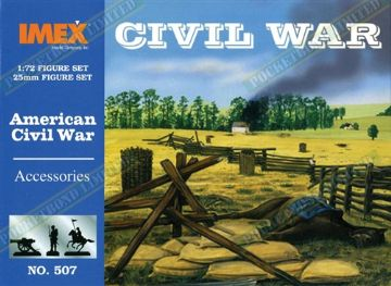 IMEX507 American Civil War Accessories 1:72 Scale